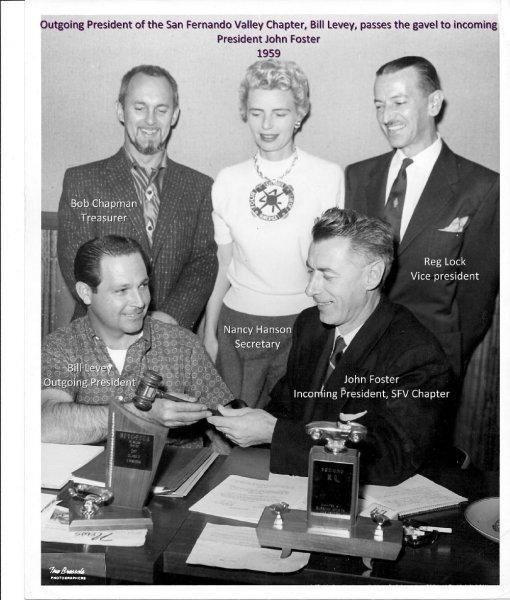 gavel-billlevy-to-johnfoster-sfv-chapter1959-names